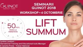 Workshop International Guinot Lift Summum