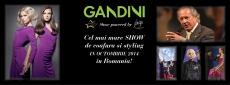 GANDINI in Romania - Cel mai mare Show de coafura si styling Vitality's