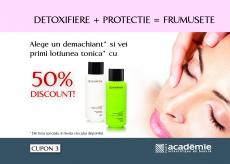 Campania ACADEMIE Detoxifiere + Protectie = Frumusete