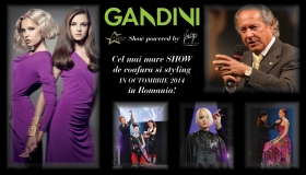 GANDINI in Romania - the biggest Vitality's show of hairdressing and styling