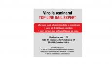 Invitatie Seminar Nail Expert Timisoara&Iasi